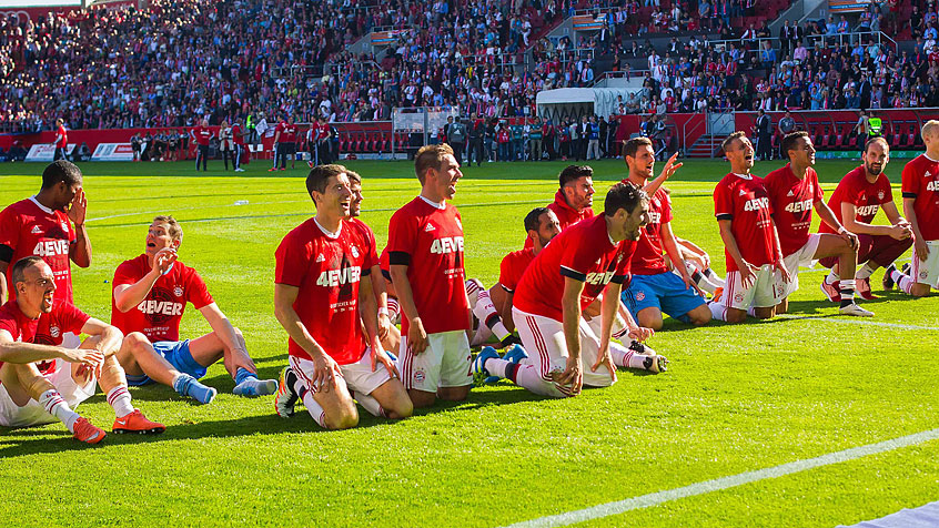 El Bayern celebra en Ingolstadt su cuarto título consecutivo de Bundesliga (07-05-16)