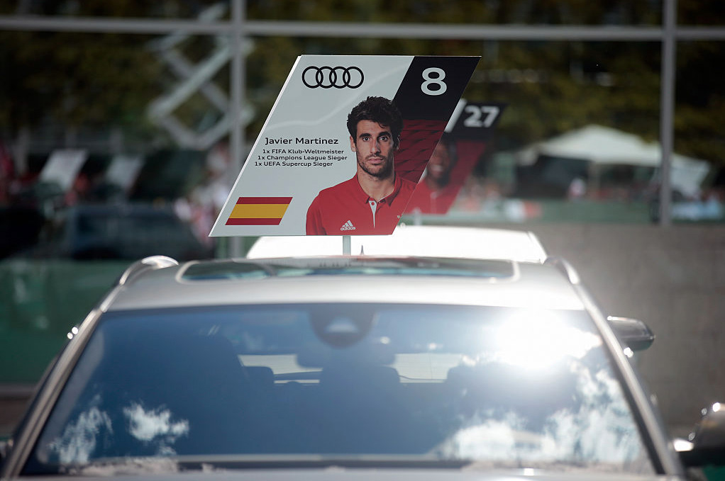 Javi getting a new AUDI official car in Ingolstadt (22-08-16)