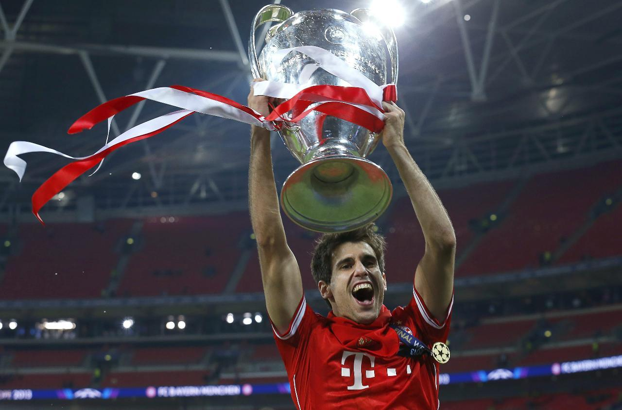 Javi Martinez, European Champion for FCB (25-05-13)