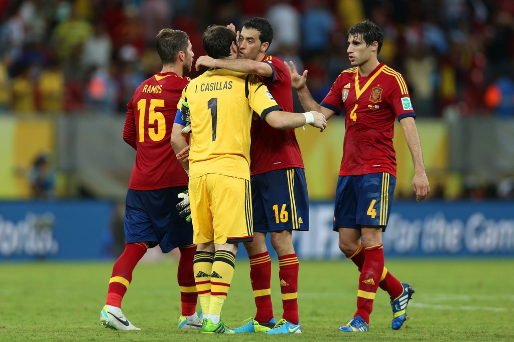 Javi Martinez in Brazil Confederations Cup 2013