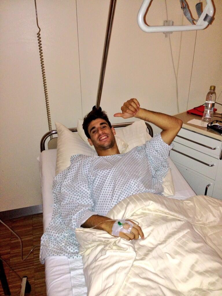 Javi Martínez Nach seiner Leistenoperation
