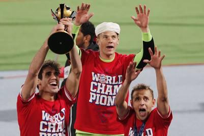 Javi Martínez se proclama Campeón del Mundo de Clubes con el Bayern (21-12-13)