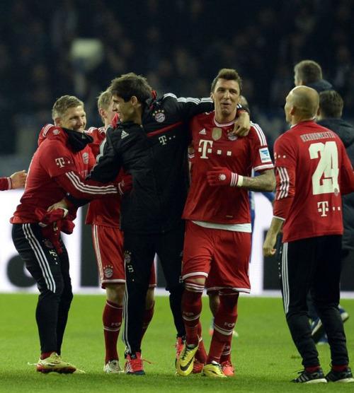 Javi conquista en Berlín su segunda Bundesliga (25-03-14)