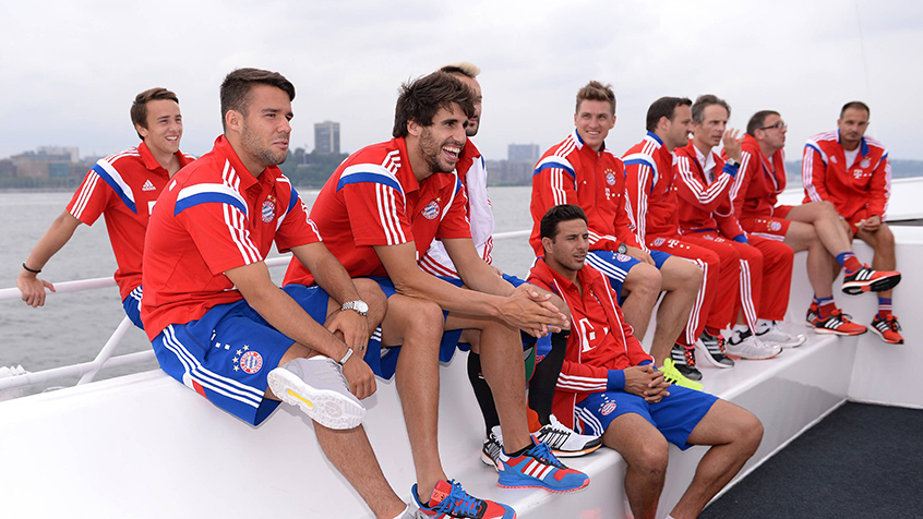 Javi Martínez, on FCB pre-season Tour (03-08-14)