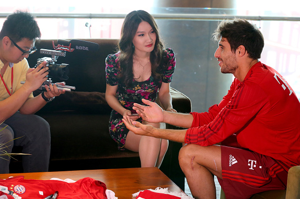 Audi China Summer Tour del Bayern en pretemporada (18-07-15)