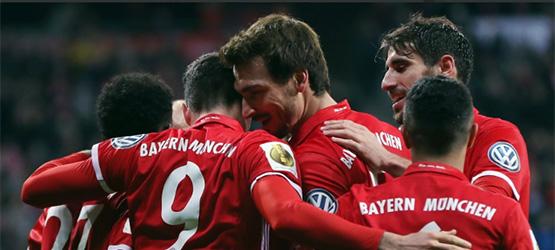 El Bayern, en 'semis' de la Copa (3-0)