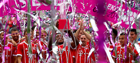 First pre-season trophy with Telekom Cup triumph