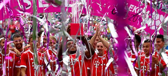 El Bayern vence en la Telekom Cup
