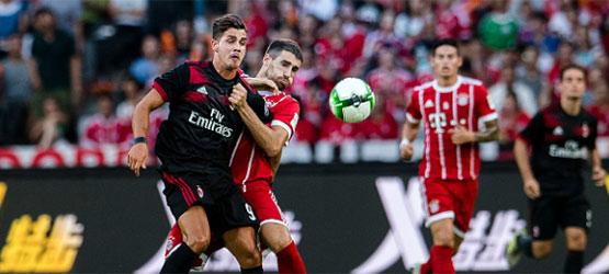 Derrota en Shenzhen contra el Milán