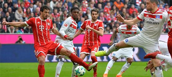 FCB lassen dem HSV keine chance (6:0)