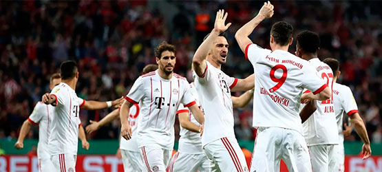 Javi scores opener as Reds book a place in DFB Cup final (2-6)