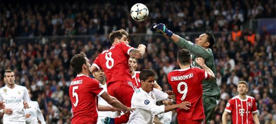 Bayern scheitern im Cl Halbfinale (2:2)