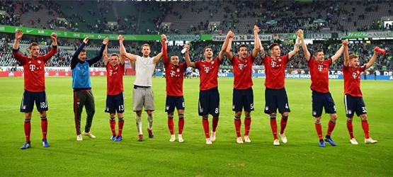 El Bayern se impone en Wolfsburgo (1-3)
