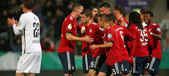 FCB erreichen Pokal-Achtelfinale (1:2)