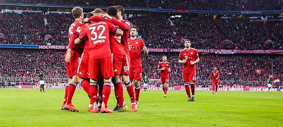 Bayern nach siebtem Heimsieg in Serie Spitzenreiter (6:0)