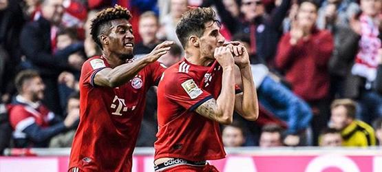 Goleada y liderato para el Bayern (5-0)