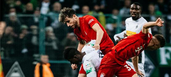 El Bayern cae frente al Gladbach (2-1)