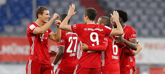 Reds seal berth in Berlin (2-1)
