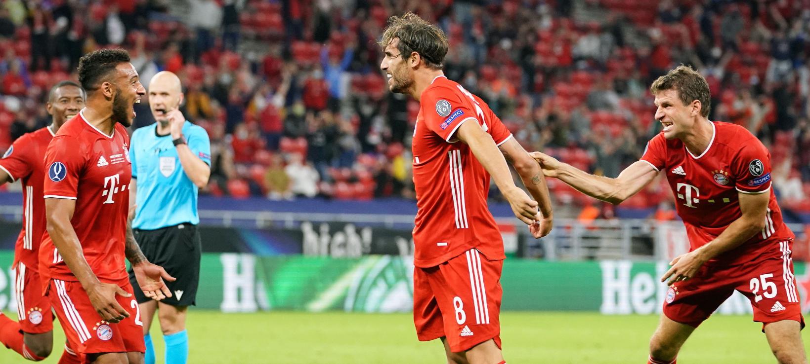 Javi decide otra Supercopa para el Bayern (2-1)