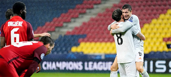 9 points from 9: CL win at Salzburg (2-6)