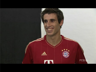First Martinez´s impressions as a FC Bayern player (05-09-12) FC Bayern TV