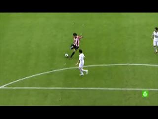 Golazo de Javi Martínez al Deportivo de La Coruña (15-05-2010)