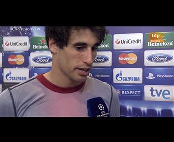 Javi Martínez, tras el Bayern 4 - Barcelona 0 (23-04-13) TDP