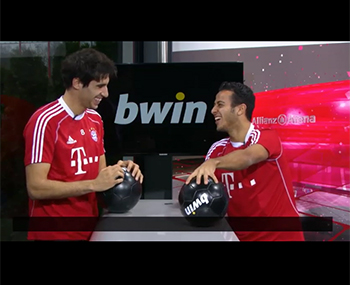 Extra time with... Javi & Thiago (22-01-14) Bwin/FCB