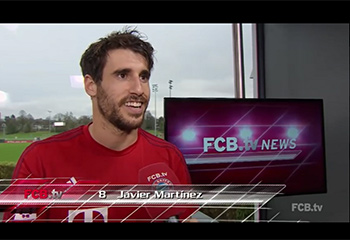 Martínez im Interview (06:04:16) FCBTV