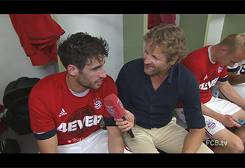 FCB win Bundesliga 1 Title at Ingolstadt (07-05-16) FCBTV